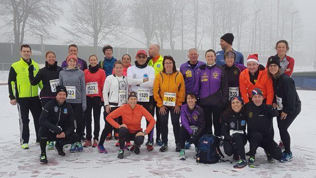 WZK Tri-team Winterwonderland bij Ter Specke Loop Lisse