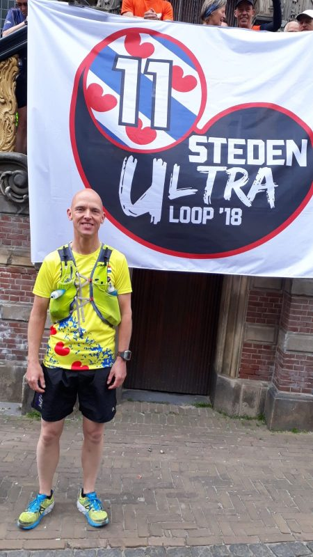 Pieter den Edel loopt de ultra Elfstedentocht.